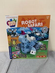 NEW Robot Safari Kids First Thames & Kosmos STEM Experiment Kit Motorized 567014