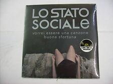 """LO STATO SOCIALE - VORREI ESSERE UNA CANZONE - 7"""" VINYL NEW 2017 RSD COPY # 468"""