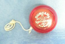 Vintage Red Duncan Hyper Imperial yoyo Yo Translucent