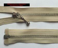Opti Zipper Fasten Metal divisible Jewelry sliders 90cm sand bright