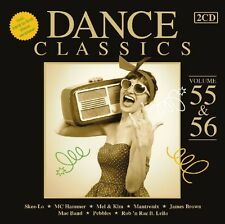 DANCE CLASSICS 55 & 56 2 CD NEU CHERRELLE/MIDNIGHT STAR/MC HAMMER/+