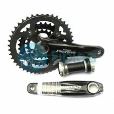 New Shimano Deore FC-M590 Mountain Triple Crankset Crank 3x10-speed