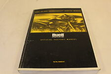 HARLEY DAVIDSON OEM BUELL S3 / S3T THUNDERBOLT 2001 SERVICE MANUAL 99489-01Y