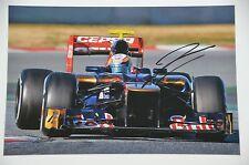 Jean Eric Vergne SIGNED 20x30cm PHOTO AUTOGRAFO AUTOGRAPH in persona Car Driver