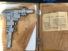NEW  DDR  gear tooth vernier caliper with documents