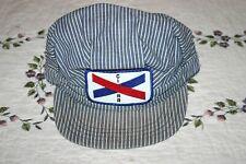 Vintage CI Cambria and Indiana C&I Railroad Train Snapback Hat USA Made