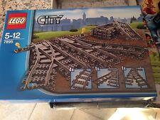 COSTRUZIONI LEGO CITY 7895 SCAMBI PER LA FERROVIA Nuovo Sped.immediata