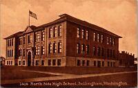 Postcard North Side High School in Bellingham, Washington~133637
