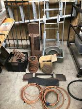 """live steam locomotive hunslet 71/4"""" castings frame and boiler cab and tender"""