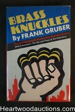 Brass Knuckles by Frank Gruber 1966- High Grade
