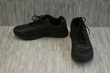 Avia Avi-Skill Slip Resistant Work Shoes, Men's Size 9.5, Black
