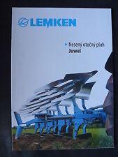 0066) LEMKEN Juwel - Neseny otocny pluh - Slowakei-Prospekt Brochure 03.2012
