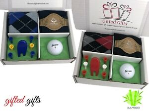 Golf Gift Sets Socks Balls Tee's Ideal Presents, Birthdays Fathers Day Society's