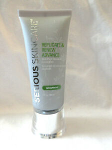 Serious Skincare Replicate & Renew Advance Plant Stem Cell 1 oz NWOB MZ