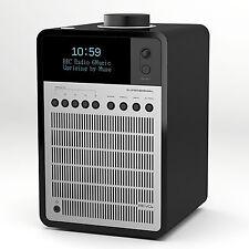 REVO Super Signal Radio Bluetooth Lautsprecher Lack schwarz