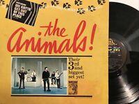 The Animals – Animal Tracks LP 1965 MGM Records – E 4305 VG/VG