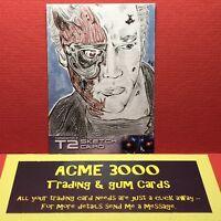 Unstoppable Terminator 2 T2 - KITTY LYDIA K-L DYE - Sketch Card - ARNOLD T-800 A