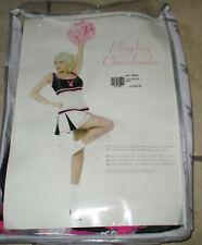Womens Playboy CHEERLEADER Costume Sz M In Package
