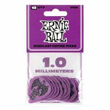 Ernie Ball Everlast 1.0mm Guitar Picks Purple (Pack of 12) P09193