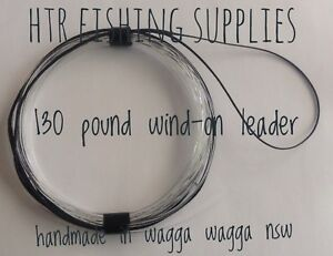 HTR Fishing Supplies 130 pound Wind-On Leader