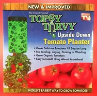 NEW - Topsy Turvy - New & Improved Upside Down Tomato Planter - As Seen On TV