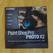Corel Paint Shop Pro Photo X2 (New ! sealed cd +Key Code) OEM