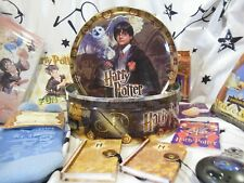 Harry Potter tin with other collectibles