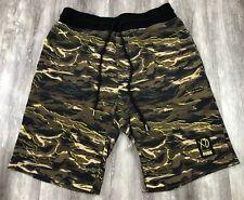 PUMA x XO The Weeknd Camouflage Camo Army Military Drawstring Shorts M