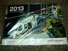 Collector 2013 Bell Helicopter Calendar Bell 429 Police Fire EMS Military