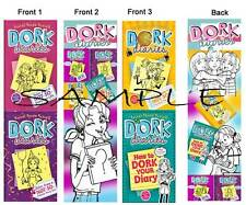 DORK DIARIES BOOKMARKS 3 Lot- Book Marker-So Dork Diary Stocking Stuffer Gifts