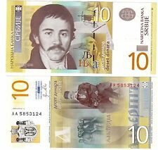 Serbie SERBIA Billet 10 DINARA 2011 NEUF UNC
