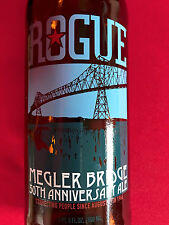 RARE ~ ROGUE Astoria, OR Bridge 50th Anniversary Ale 22oz Beer Bottle Collector