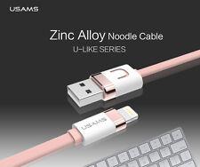 USAMS MFi certificado iPhone 5S 6S Ipad Iluminación De Datos Sincronización Cable USB CARGA