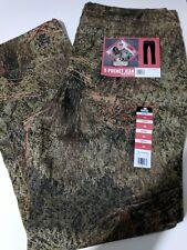 Ladies Mossy Oak Camouflage hunting 5 pocket stretch jean pants Size 16