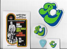 Vintage Promo Lot: Roy Clark Oak Ridge Boys Midem '79 Flyer Pinback etc Original