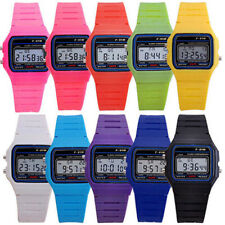 Men Women Electronic Led Digital Multifunction Plastic Sport Wrist Watch Cheap G