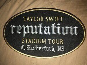Taylor Swift Reputation Tour NJ Stadium Tour Patch