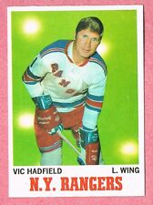 1970-71 70-71 O-PEE-CHEE OPC #62 Vic Hadfield SET BREAK