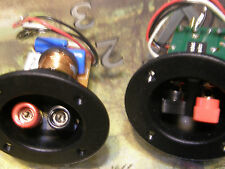 pair Auratone monitor 2 way Speaker Crossovers with wire terminals 5 way binding