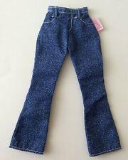 Barbie dolls clothes -  Denim Jeans with label