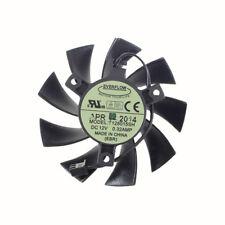 T128015SH 75MM 2PIN DC12V 0.32A FOR EVGA GTX 650 650Ti GTS 450 Graphics Card Fan