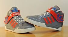 Adidas High Top Grey Basketball Shoes Sneakers Roundhouse 2 Pink Hip-Hop GS Rap