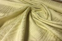 CREAM COTTON CURTAIN UPHOLSTERY FABRIC 1.2 METRES.