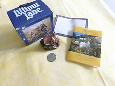 """Lilliput Lane Collectible Cottages L2255 """"Nest Egg"""" Mib with deed."""