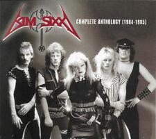 KIM SIXX – Complete Anthology 1984 – 1985 (NEW*LIM.500 DIGIPAK*DK HEAVY METAL)
