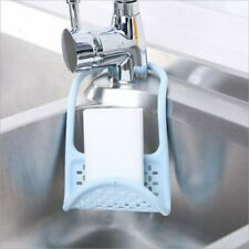 AEX Foldable Kitchen Sink Drying Rack Dish Sponge Drain Organizer Holder