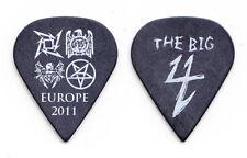 Metallica Slayer Big 4 Europe Sharp Black Guitar Pick - 2011 Tour