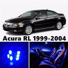 19pcs LED Blue Light Interior Package Kit for Acura RL 1999-2004