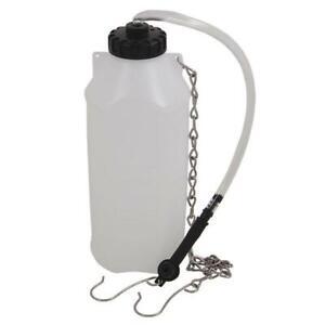 Brake Bleeding Bottle 1Litre Holding Chain Hose Bleed 4853
