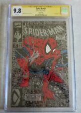 Spider-Man #1 Silver Edition CGC 9.8 Signed By Stan Lee